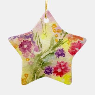 'Floral Splash' Ornament