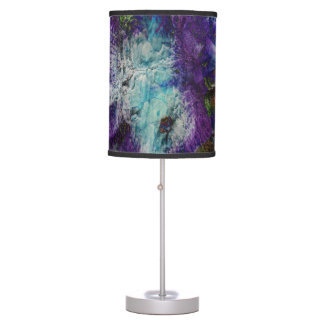 Floral Splash Table Lamp