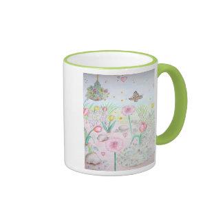 Floral Spring Garden Coffee Mug