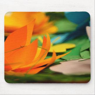 Floral Square mouse pad