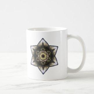 Floral Star of David Coffee Mug