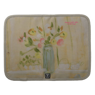 Floral Still Life Cellphone Folio Organizer