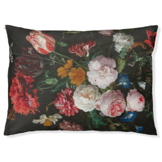 Floral Still Life Dog Bed