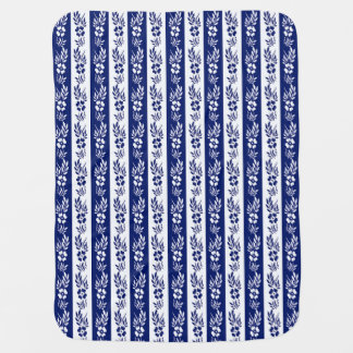 floral striped pattern receiving blankets