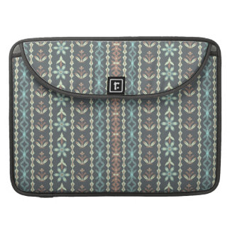 Floral stripes - Rickshaw Macbook Sleeve