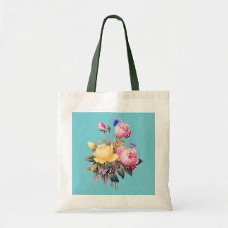 Floral Style Tote Bag