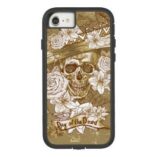 Floral Sugar Skull Case-Mate Tough Extreme iPhone 8/7 Case