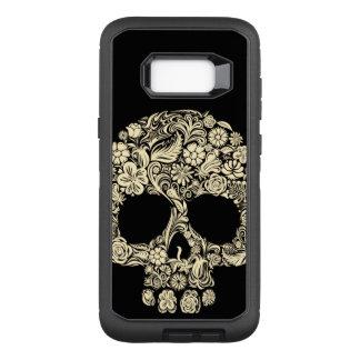 Floral Sugar Skull Samsung Galaxy S8+ Case