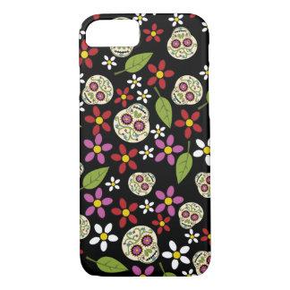 Floral Sugar Skulls iPhone 7 Case