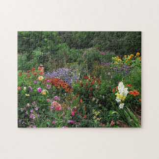 Floral Summer Garden Flowers Puzzle