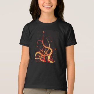 Floral Summer Glow Girls T-Shirt