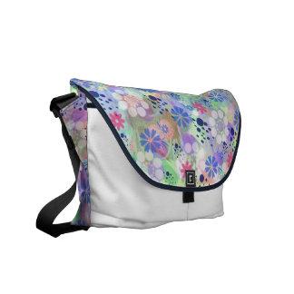 floral summer commuter bag