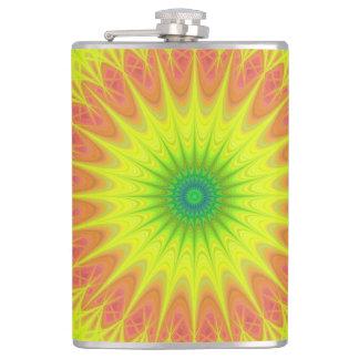 Floral sun flasks