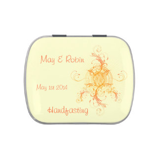 Floral Sun Handfasting Favor (Jelly Beans) 2
