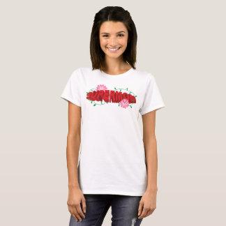 Floral SuperMom Super Powers T-Shirt