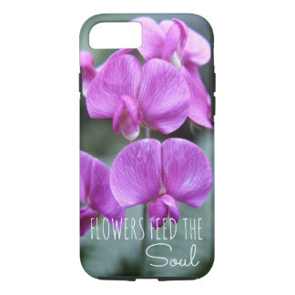 Floral Sweet Pea Flower Pretty Blooms Annual Flora iPhone 8/7 Case
