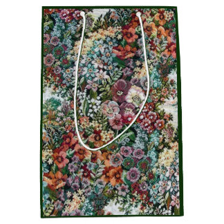 Floral Tapestry Medium Gift Bag