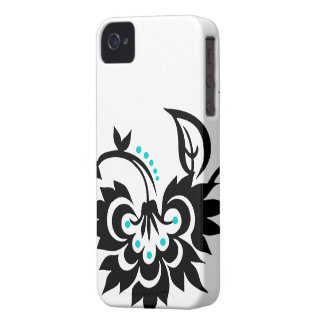 Floral Tattoo design iPhone 4 case