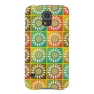 Floral tessellation galaxy s5 covers