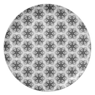 Floral texture plate