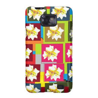 Floral Theme Galaxy S2 Case