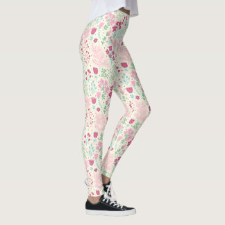 Floral theme II Leggings