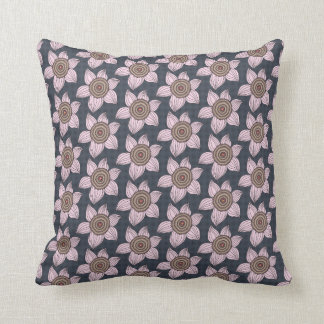 Floral Throw Cushion 41 x 41 cm / Abeer Collection