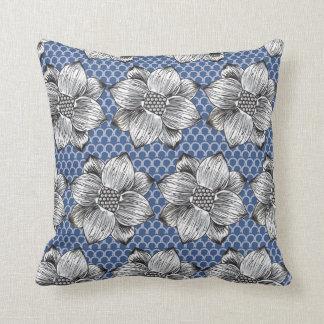 Floral Throw Cushion 41 x 41 cm / Mona Collection