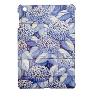 Floral tiles iPad mini covers