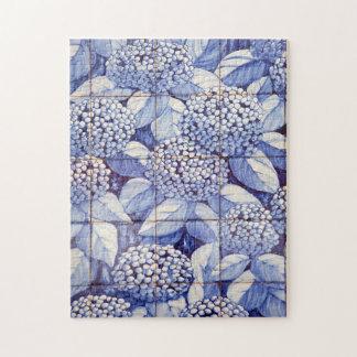 Floral tiles jigsaw puzzle
