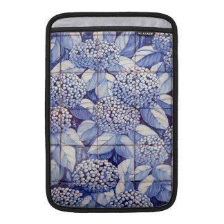 Floral tiles sleeve for MacBook air