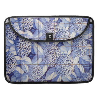 Floral tiles sleeve for MacBooks