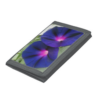 Floral TriFold Nylon Wallet