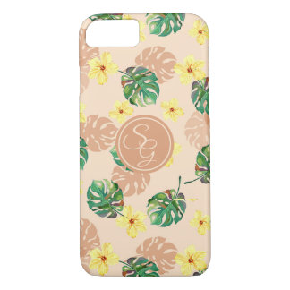 Floral tropical Beautiful design. iPhone 8/7 Case