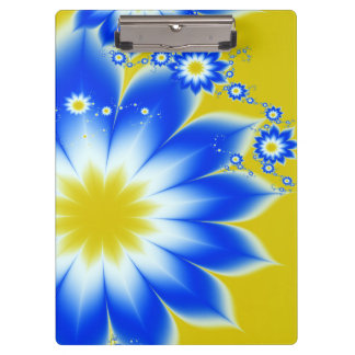 Floral Tropical Breeze Clipboard