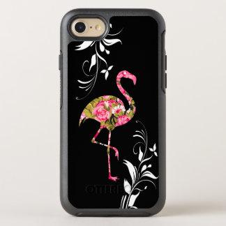 Floral Tropical Flamingo OtterBox Symmetry iPhone 8/7 Case