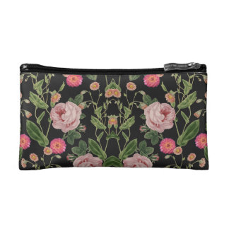 Floral Tunes Cosmetic Bag