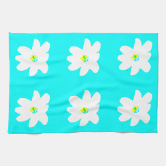 Floral Turquoise Sunshine 4Ellen Kitchen Towel