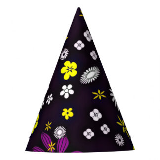 floral twist 416A (I) Party Hat