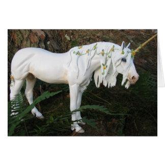 Floral Unicorn Card