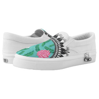 Floral Utopia Slip-On Sneakers