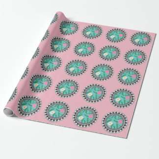 Floral Utopia Wrapping Paper