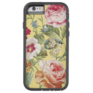 Floral Variety in Pink Red Blue and Yellow Tough Xtreme iPhone 6 Case