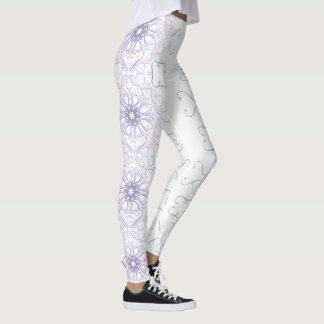 floral victorian lace. leggings