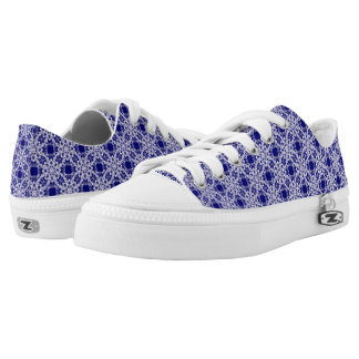 floral victorian lace. Low-Top sneakers