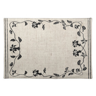 Floral Vine Placemat American MoJo