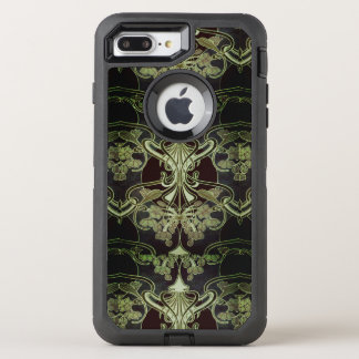 Floral Vintage Art Nouveau OtterBox Defender iPhone 8 Plus/7 Plus Case