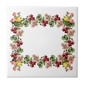 Floral Vintage tile