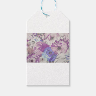 Floral Vintage Wallpaper Pattern Gift Tags