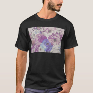 Floral Vintage Wallpaper Pattern T-Shirt